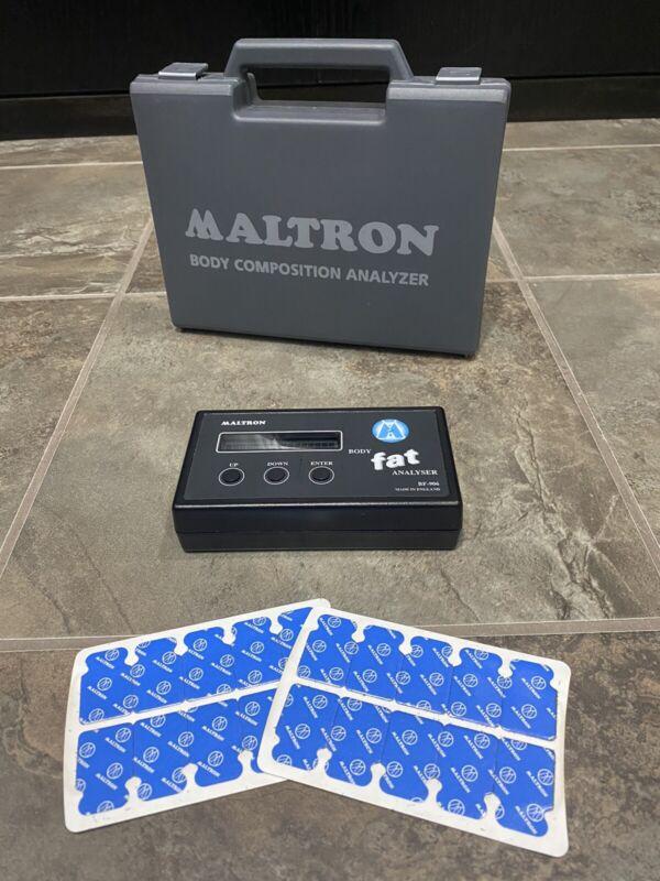 Maltron BF907 BF-906 BODY COMPOSITION Professional Fat Analyzer