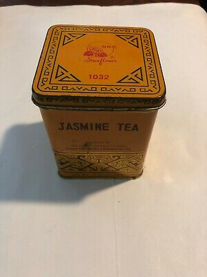 Vintage Tin Box China Jasmine tea - Vintage Tea