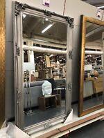 Spiegel Groß Wandspiegel Barock Silber Garderobenspiegel 180cm Bremen - Neustadt Vorschau