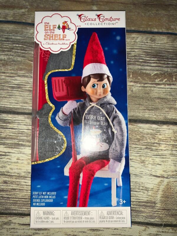 The Elf on the Shelf Snow Day Shovel N