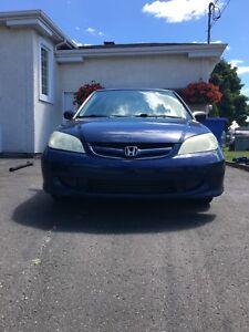 Honda Civic DX 2005  /  215300KM