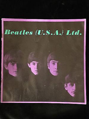 BEATLES-1964-TOUR ORIGINAL CONCERT PROGRAM BOOK-U.S.A.-EXCELLENT