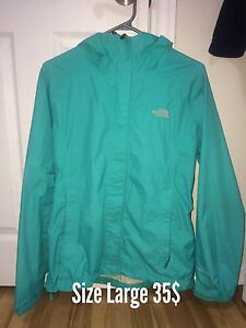 North face jacket, Nike pants, Addias hoodie,dress