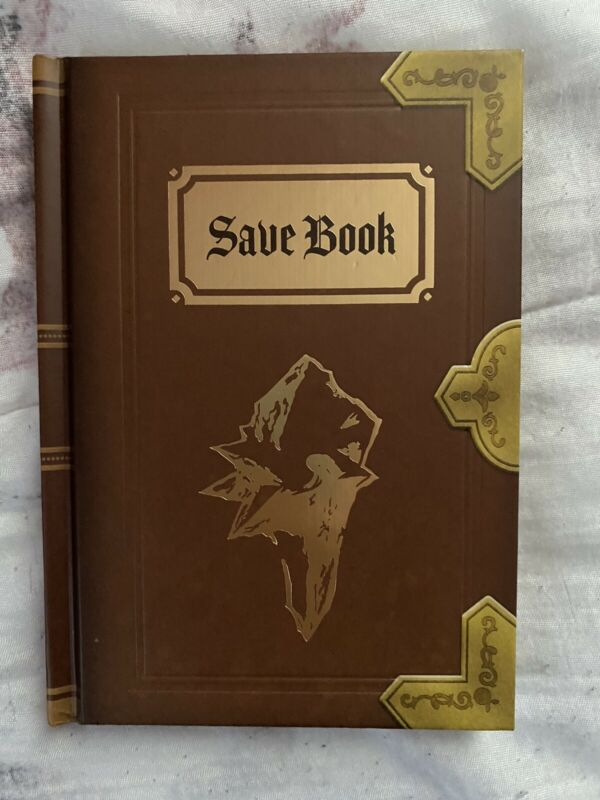 Final Fantasy IX 9 Save Book