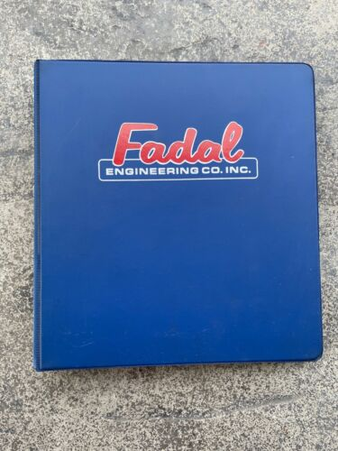 Fadal VMC Series Machine User and Maintenance Manual