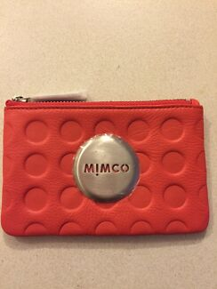 Mimco Red Spotty Small Pouch Medowie Port Stephens Area Preview