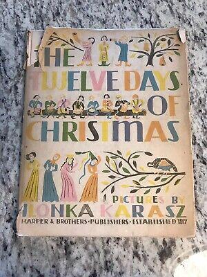 1949 Antique Christmas Book