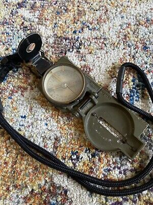 Vintage US Army Lensatic Magnetic Compass - Dated 5-1953 Fee & Stemwedel Inc.