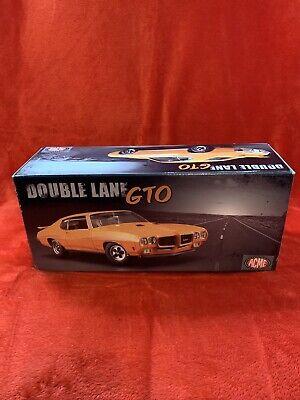 Acme Double Lane GTO Orange 1/18 Scale