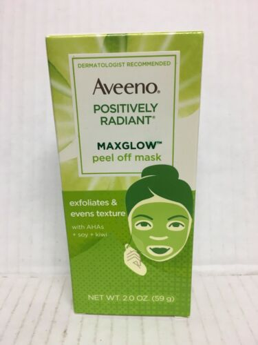 AVEENO POSITIVELY RADIANT MAXGLOW PEEL OFF MASK 2 OZ/59g