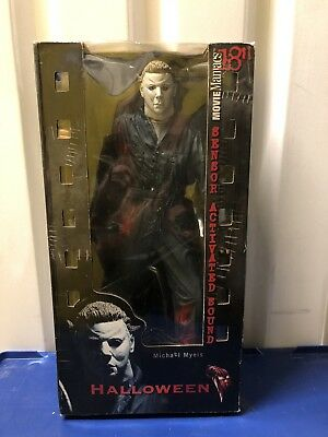"McFarlane Movie Maniacs 18"" Motion Activated Figure Michael Myers Halloween MM95"