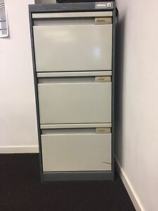 3 drawer filing cabinet Southport Gold Coast City Preview