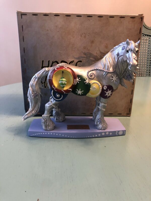 Christmas Clydesdale Silverfrost #20614 Horse Of A Different Color Westland