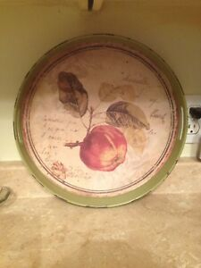 Distressed Apple tray in new condition.