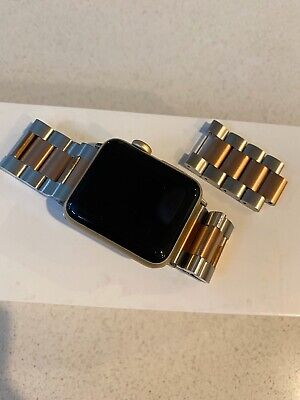 Apple Gold Series 2 38mm iWatch EUC