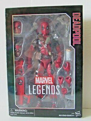 Hasbro Marvel Legends Series Classic Red Suit Deadpool 12 inch Action Figure NIB