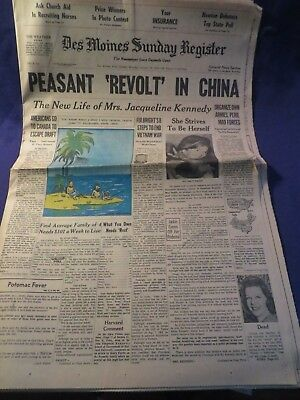January 22Nd 1967 The Des Moines Sunday Register Newspaper