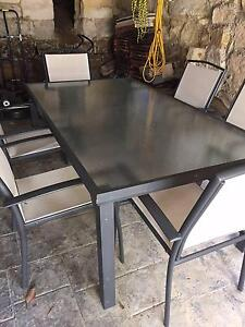 Outdoor dining table and 6 Chairs Northbridge Willoughby Area Preview