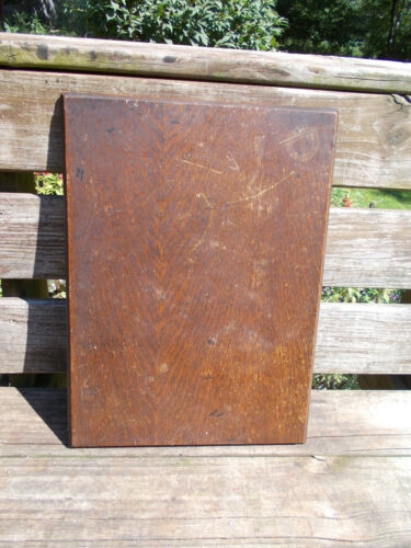 Antique Singer Treadle Sewing Machine Oak Table Top--Use for Repurpose Project