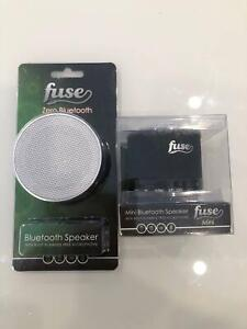 BRAND NEW 2X FUSE Bluetooth Speakers. Fairy Meadow Wollongong Area Preview