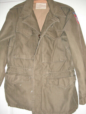 WW2 ORIGINAL 82nd AIRBORNE PARATROOPER M-43 COMBAT JACKET 508th PIR FROM LOT  for sale  USA