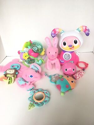 Toys Baby Lot Of 6 Fisher Price 6 M+ Pink Girls Beatbo