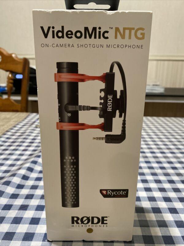 Rode VideoMic NTG On Camera Mount Shotgun Microphone BRAND NEW