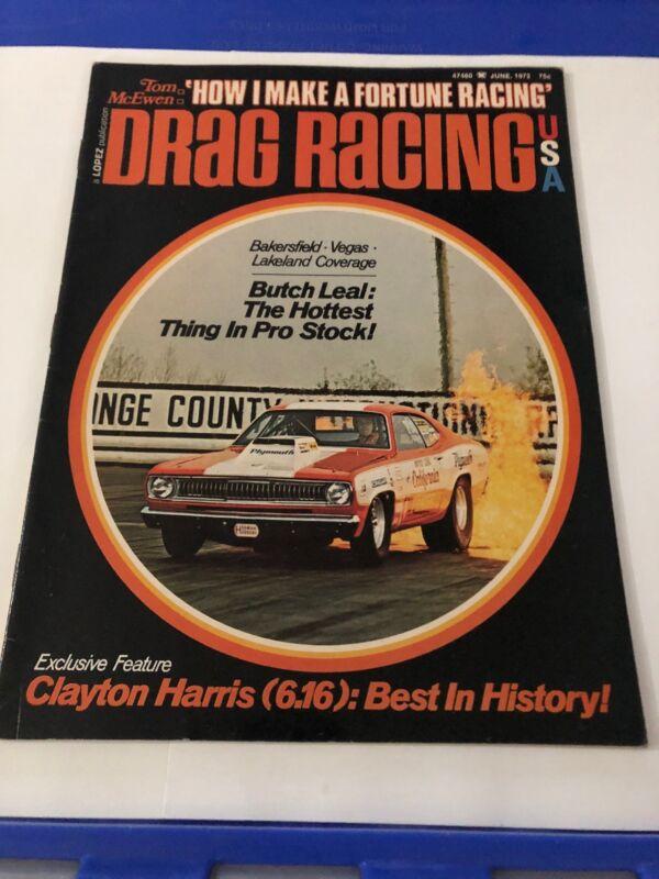June 1972 Drag Racing Magazine