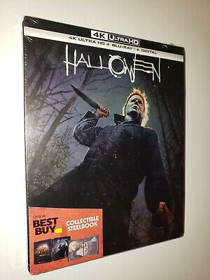 Halloween Movies Best (HALLOWEEN 2018 Special Edition Best Buy STEELBOOK Blu-ray disc New/Sealed)