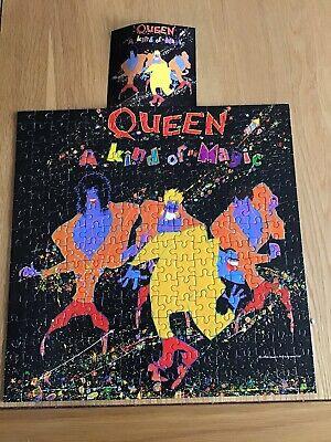 Queen - A Kind Of Magic - Rare 250 Piece Jigsaw. Magic Tour '86. Mercury. May.