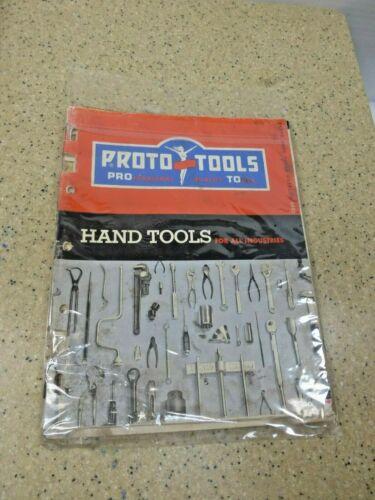 Proto Hand Tool Catalog-1960