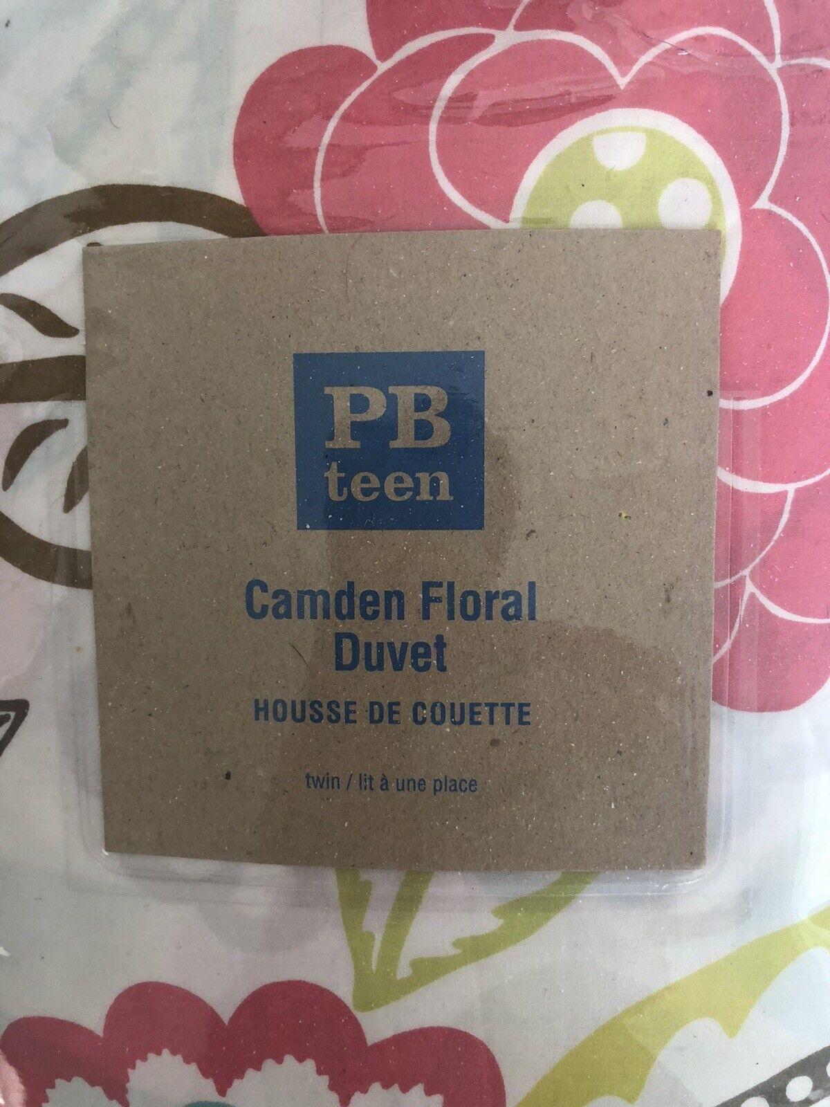 Pottery Barn Kids Camden Floral Duvet TWIN NWT NLA - $45.00