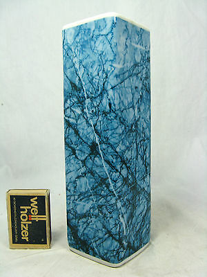 Unusual  70´s Pop Art Design Royal KPM Relief Porzellan vase marble effect 369/1