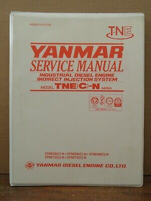 Yanmar Tnec-n Series Diesel Engine Indirect Injection Service Repair Manual