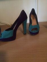 Ladies Size 7 Aqua and Purple Raceview Ipswich City Preview