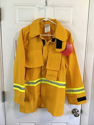 Firefighter Wildlandbrush Jacket With Reflective Stripes S Small R Barrier Wear