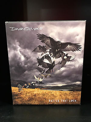 David Gilmour-Rattle That Lock-CD Box Set-Includes 1 CD and 2 Books
