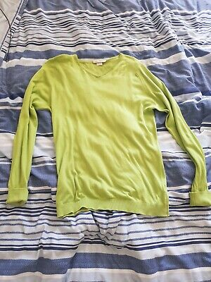 Mens John Smedley Sea Island Cotton Jumper/Sweater/Top Size Small