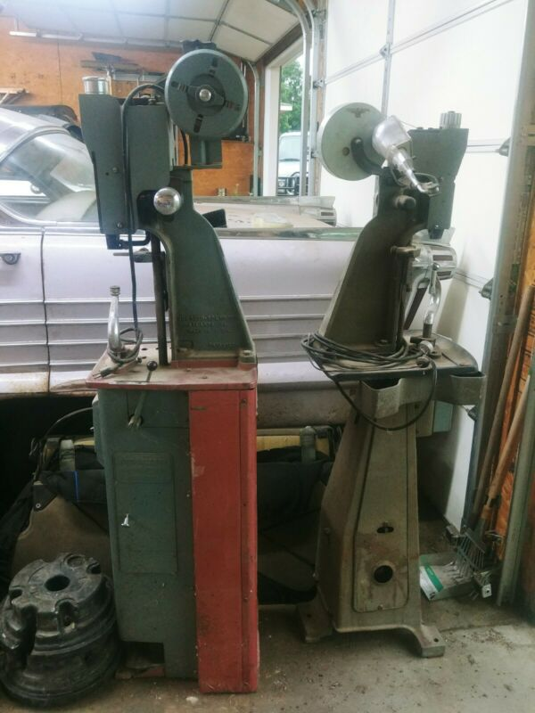 TWO Auto Soler Nose Coner Vintage Cobbler Shoe Making Nailer Machines