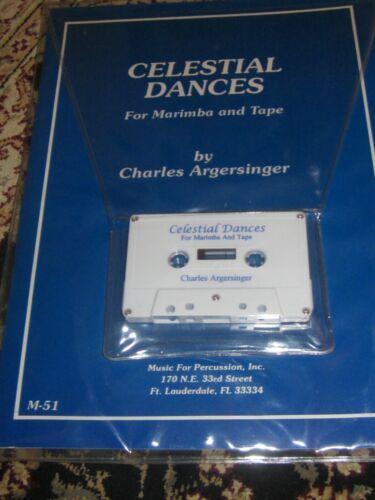 Celestial Dances for Marimba & Tape by Argersinger