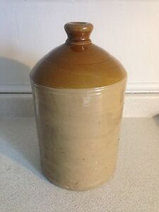 Large Antique Crock Jug, No Chips or Cracks