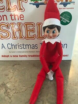 The Elf on the Shelf GIRL Doll ONLY A Christmas Tradition Christmas Elf