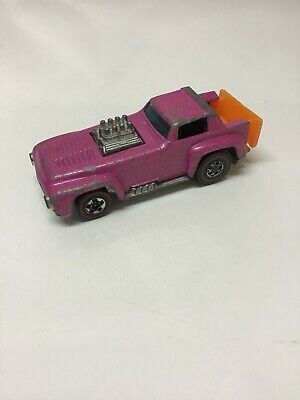 Hot Wheels Redline Short Order 1970 Pink Made in Hong Kong