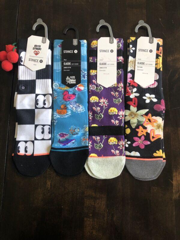 Stance Kids Socks 4 Pairs Size 2.5-5