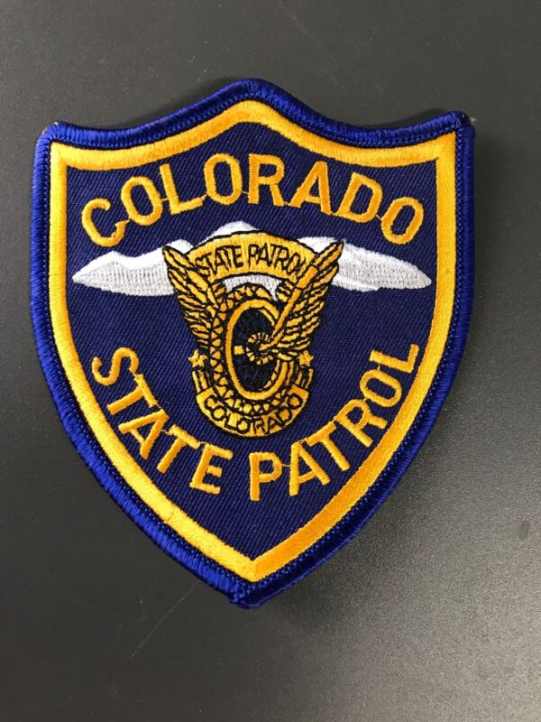 Colorado State Patrol Trooper Police Patch Co Full Size