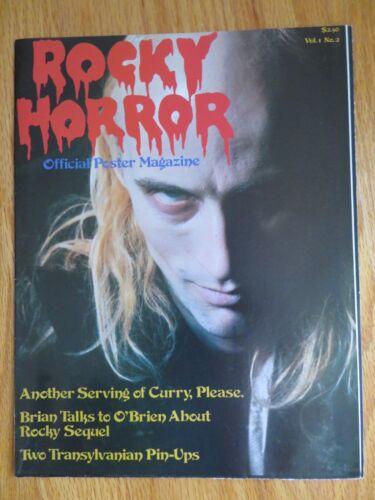 1979 ROCKY HORROR Poster Magazine Vol 1 No 2 TRANSYLVANIAN Pin-Ups TIM CURRY
