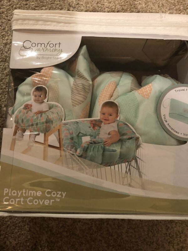 Comfort & Harmony Playtime Cozy Cart Cover, Foxtrot Leaves Gender Neutral