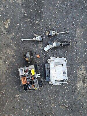 Peugeot 308 SW 2008 1.6 HDI ignition barrel key transponder engine ecu kit