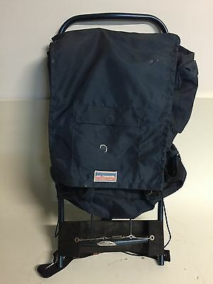 Vintage US Camper  External Frame Backpack Hiking Climbing Magnesium