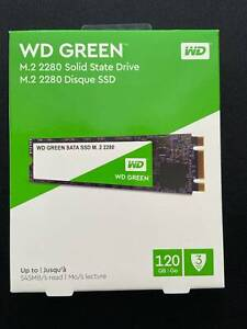 WD Green 120GB M.2 2280 SSD drive